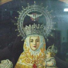 Arte: LITOGRAFIA ORIGINAL S. XIX VIRGEN DE COVADONGA. Lote 50465970
