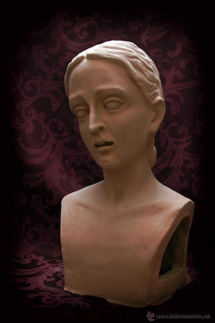 Arte: Virgen Dolorosa de tamaño natural, se entregaría ya terminada y montada en su candelero sin vestir. - Foto 3 - 50518909