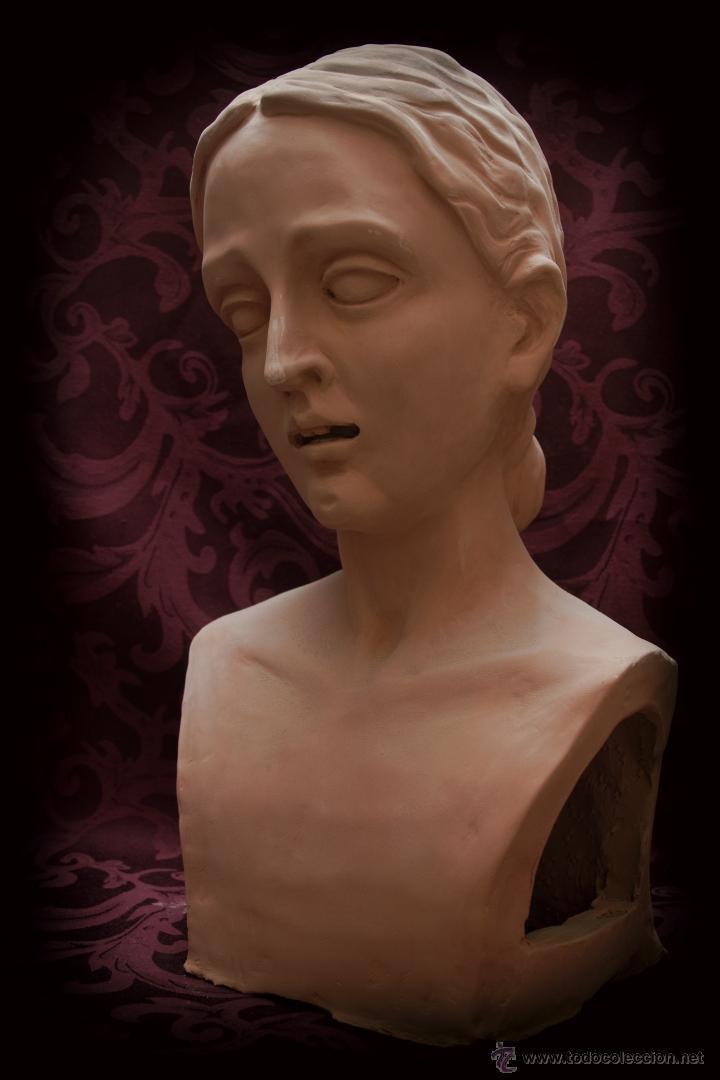 Arte: Virgen Dolorosa de tamaño natural, se entregaría ya terminada y montada en su candelero sin vestir. - Foto 5 - 50518909