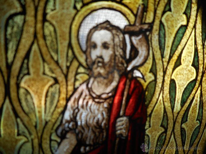 Arte: preciosa vidriera emplomada vitral gotico - Foto 8 - 50569829