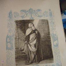 Arte: GRABADO RELIGIOSO DEL AÑO 1852 - 26X16,5 IMAGEN RELIGIOSA .- SAN TEODOSIO CENOBIARCA CONFESOR. Lote 50620047