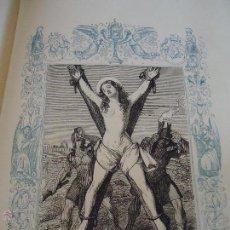 Arte: GRABADO RELIGIOSO DEL AÑO 1852 - 26X16,5 IMAGEN RELIGIOSA - SANTA EULALIA DE BARCELONA VIRGEN MARTIR. Lote 50620459