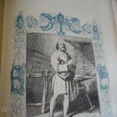 Arte: GRABADO RELIGIOSO DEL AÑO 1852 - 26X16,5 IMAGEN RELIGIOSA - SAN BALDOMERO CONFESOR. Lote 50620663
