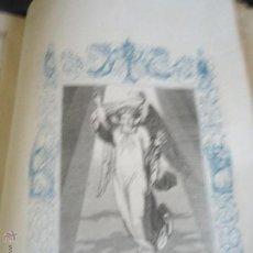 Arte: GRABADO RELIGIOSO DEL AÑO 1852 - 26X16,5 IMAGEN RELIGIOSA - SAN GABRIEL ARCANGEL. Lote 50620851