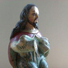 Arte: JESUS ESPAÑOL COLONIAL SENTADO. Lote 50802589