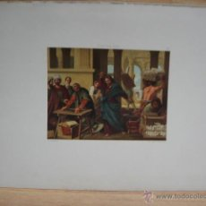 Arte: CASTIGLIONI - CROMOLITOGRAFIA DE LA CRISTIADA VIDA DE JESUS. Lote 51012218
