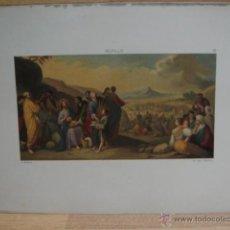 Arte: MURILLO - CROMOLITOGRAFIA DE LA CRISTIADA VIDA DE JESUS. Lote 51012363
