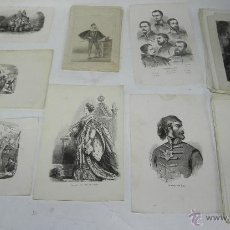 Arte: COLECCION DE 120 LITOGRAFIAS APROX. ALGUN GRABADO POSIBLEMENTE, 110 MIDEN 25 X 17 CMS Y 10 LAMINAS 2. Lote 51055820