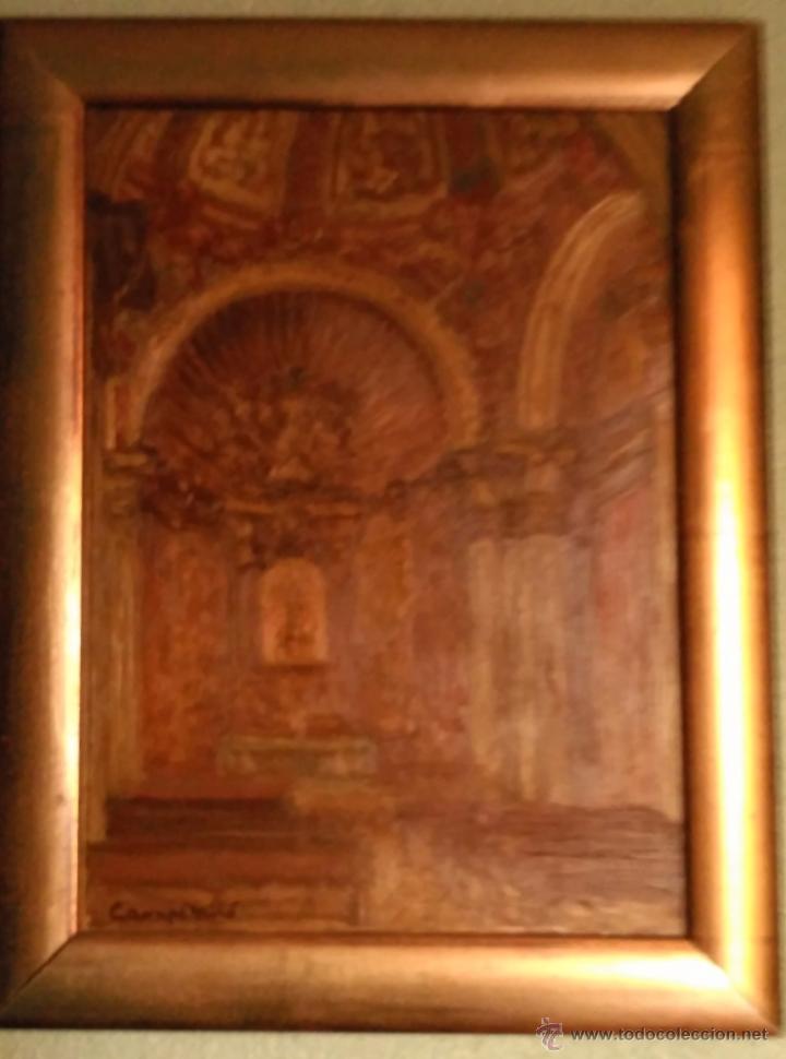 PAREJA DE CUADROS DE SANTO DOMINGO ORIHUELA (Arte - Arte Religioso - Pintura Religiosa - Oleo)