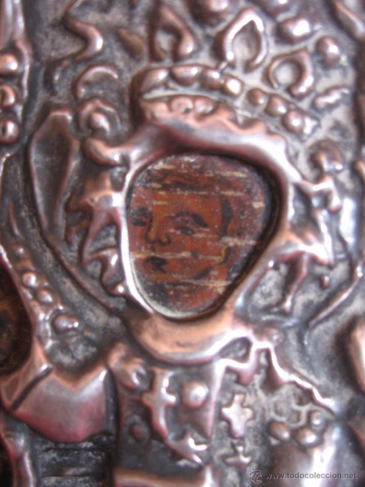 Arte: Icono Plata de 925,con dos punzones. - Foto 3 - 51209634