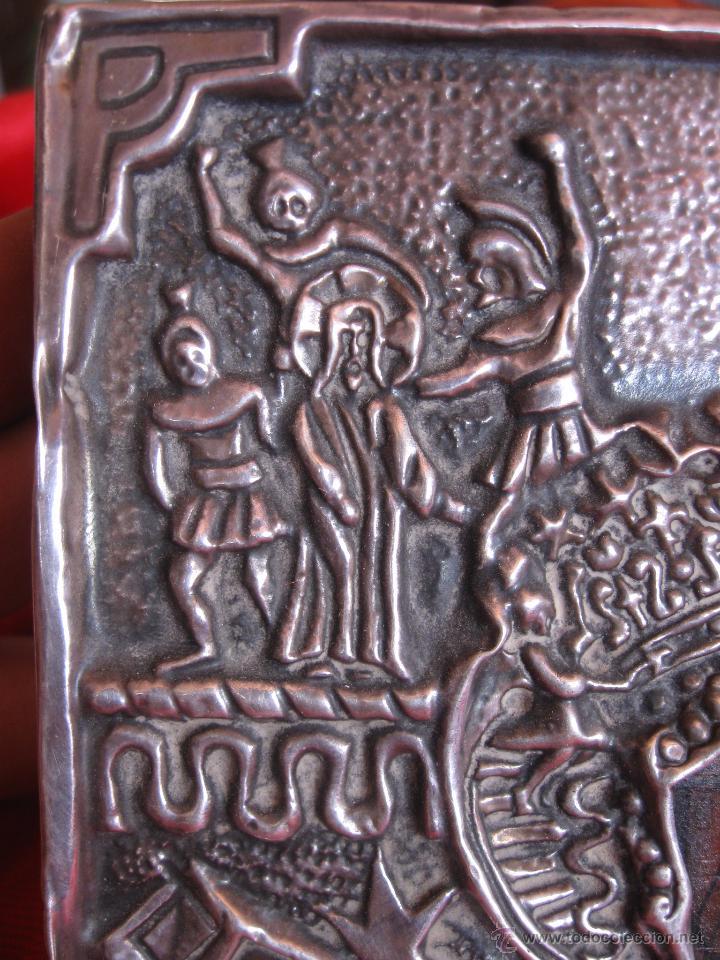 Arte: Icono Plata de 925,con dos punzones. - Foto 5 - 51209634