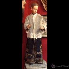 San Luis - Siglo XIX - Talla de madera