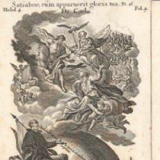 Arte: GRABADO DE LOS HERMANOS KLAUBER POSIBLEMENTE LETANÍAS LAURETANAS SIGLO XVIII. Lote 51415666