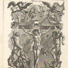 Arte: GRABADO DE LOS HERMANOS KLAUBER POSIBLEMENTE LETANÍAS LAURETANAS SIGLO XVIII. Lote 51420162