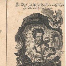 Arte: GRABADO DE LOS HERMANOS KLAUBER POSIBLEMENTE LETANÍAS LAURETANAS SIGLO XVIII. Lote 51420197