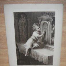 Arte: ES-TU LA JESUS ? - 29 X 20 CNTº - GRABADO EDITADO POR BOUMARD FILS. Lote 51520293