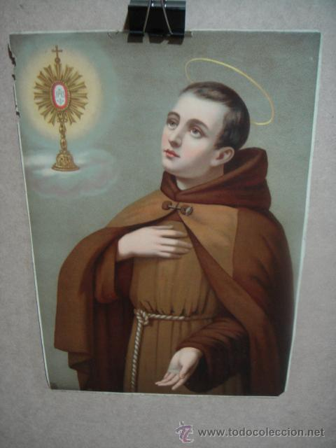 SAN PASCUAL (Arte - Arte Religioso - Litografías)