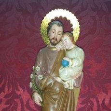 Arte: SAN JOSÉ CON JESÚS EN BRAZOS (TERRACOTA). Lote 51533408