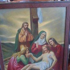 Arte - CUADRO RELIGIOSO ENMARCADO Y FIRMADO - 51547412