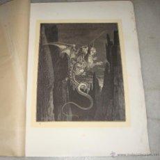 Arte: GRABADO DEL INFIERNO. DUPEYRON. G. DORÉ. S.XIX.. Lote 51603145