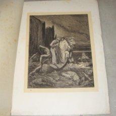 Arte: GRABADO DEL INFIERNO. G. DORÉ. S.XIX.. Lote 51603888