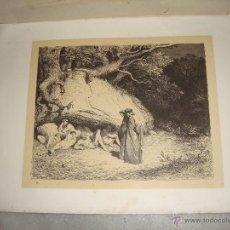 Arte: GRABADO DEL INFIERNO. G. DORÉ. S.XIX.. Lote 51652237