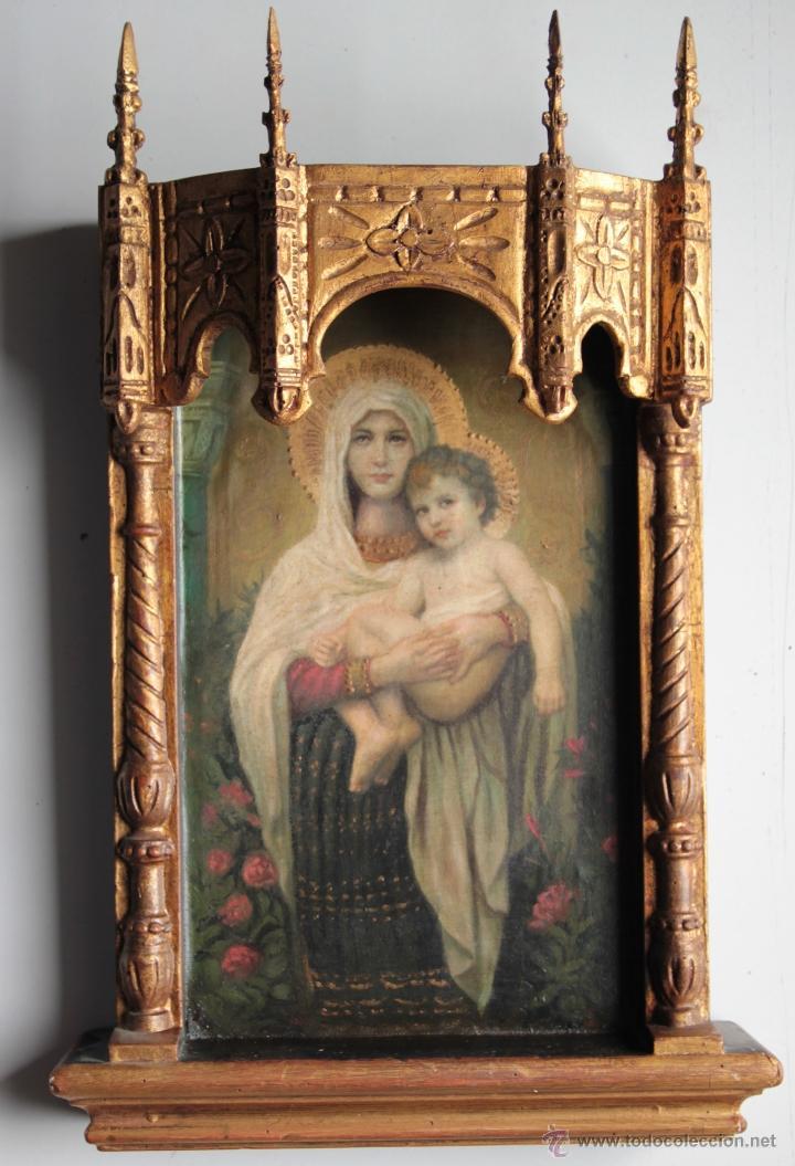 CAPILLA VIRGEN CON NIÑO (Arte - Arte Religioso - Retablos)