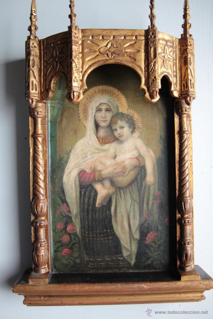 Arte: capilla virgen con niño - Foto 3 - 51664300