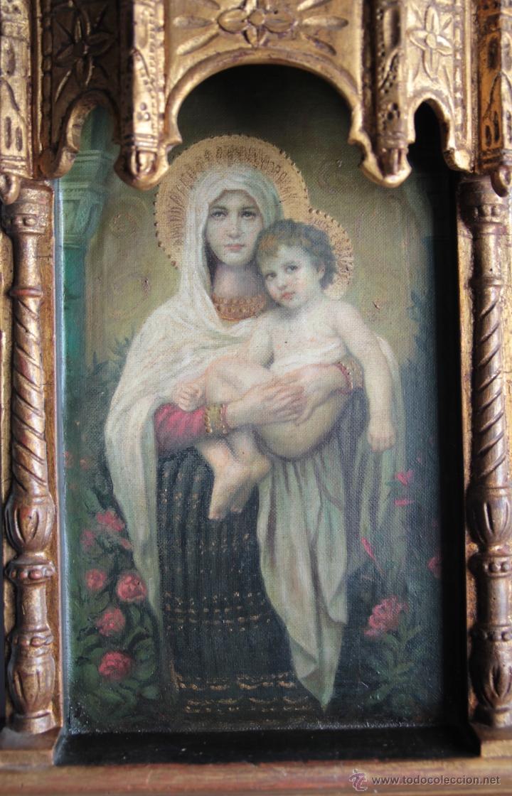 Arte: capilla virgen con niño - Foto 4 - 51664300
