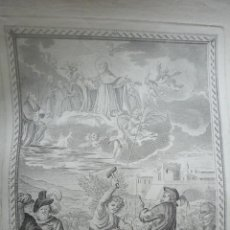 Arte: MUERTE PRECIOSA DE SN. SEVERO OBISPO DE BARCELONA. AGUSTÍN SELLENT. 1785.. Lote 52097517
