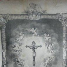 Arte: MILAGROSA IMAGEN DEL SANTO CRISTO ... IGUALADA... MARIANO FERRER Y EUSEBIO PLANAS. . Lote 52132261