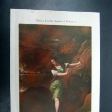 Arte: 1900 ESPASA - BELLA LAMINA COLOR SANTA MARGARITA DE TIZIANO. Lote 52415787