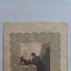 Arte: GRABADO ANTIGUO SANT LOUIS DE GONXAGNE. Lote 52489927