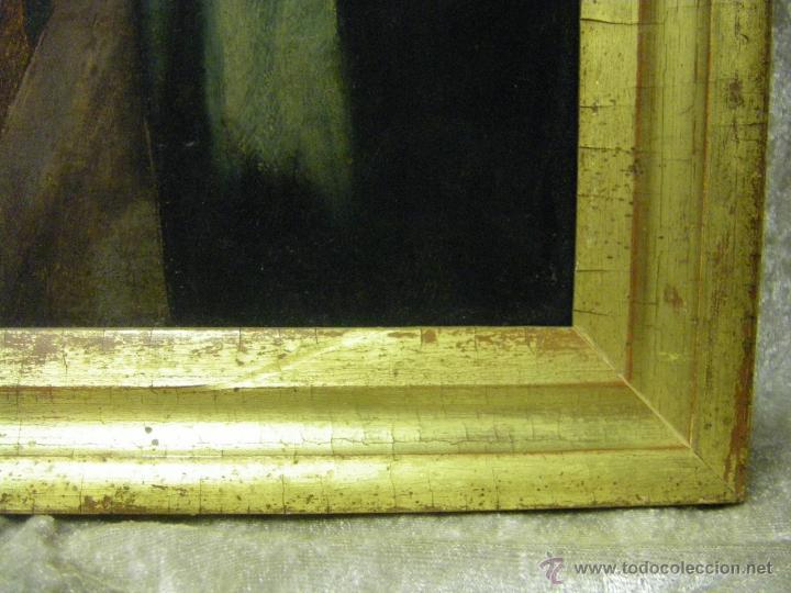 Arte: óleo en tabla Virgen María con el niño Jesús, pintura de campaña siglo XV - XVI - Foto 12 - 52490152