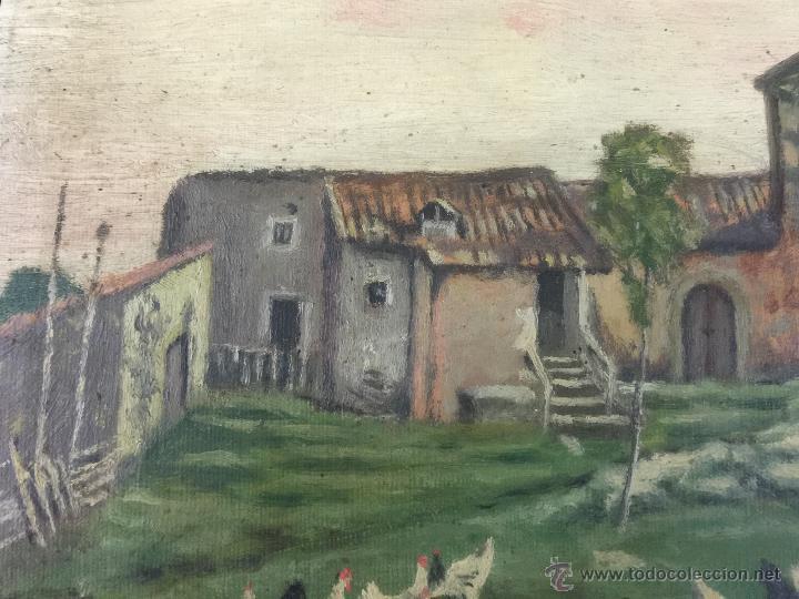 Arte: pintura al oleo de brunet y casas de 1914 - Foto 3 - 52584846