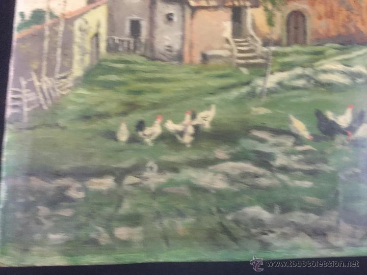 Arte: pintura al oleo de brunet y casas de 1914 - Foto 6 - 52584846