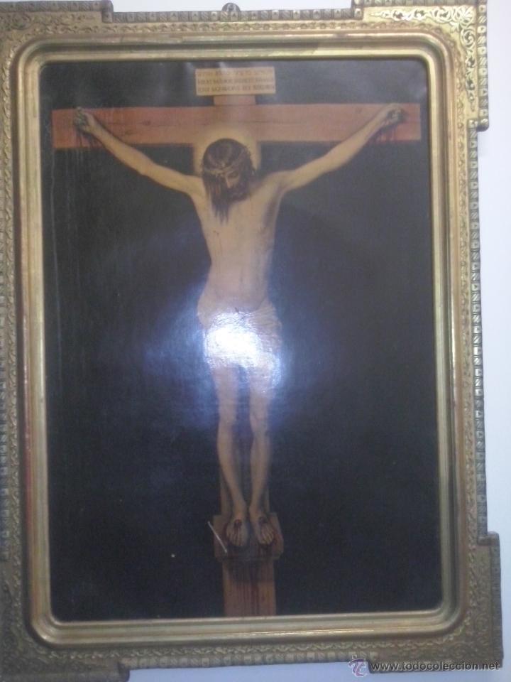 ANTIGUO OLEO SIGLO XIX ANONIMO (Arte - Arte Religioso - Pintura Religiosa - Oleo)