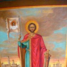 Arte: ALEXANDER NVSKI EN SAN PETERSBURGO. ICONO RUSO DEL URAL.SIGLO XIX.. Lote 52595114