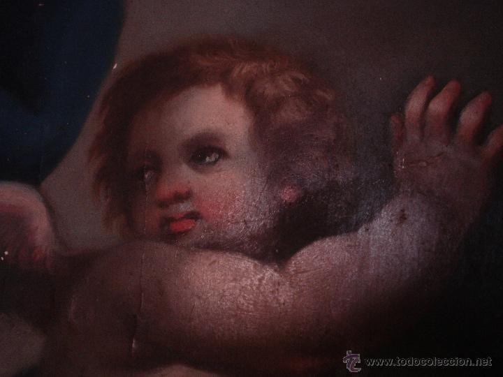 Arte: S.XVIII DIEGO DEL VALLE 1788 EXCEPCIONAL RETABLO DE LA APARICIÓN DE LA VIRGEN DEL ROSARIO - Foto 10 - 52633548