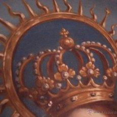 Arte: S.XVIII DIEGO DEL VALLE 1788 EXCEPCIONAL RETABLO DE LA APARICIÓN DE LA VIRGEN DEL ROSARIO. Lote 52633548