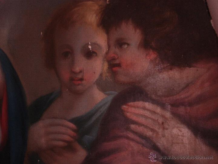Arte: S.XVIII DIEGO DEL VALLE 1788 EXCEPCIONAL RETABLO DE LA APARICIÓN DE LA VIRGEN DEL ROSARIO - Foto 13 - 52633548