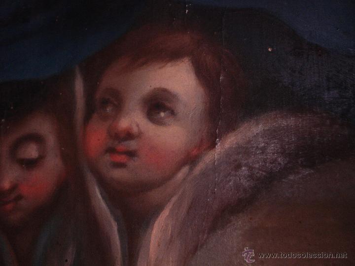 Arte: S.XVIII DIEGO DEL VALLE 1788 EXCEPCIONAL RETABLO DE LA APARICIÓN DE LA VIRGEN DEL ROSARIO - Foto 14 - 52633548