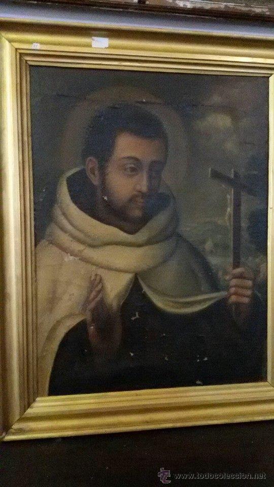CUADRO OLEO FRAILE (Arte - Arte Religioso - Pintura Religiosa - Oleo)