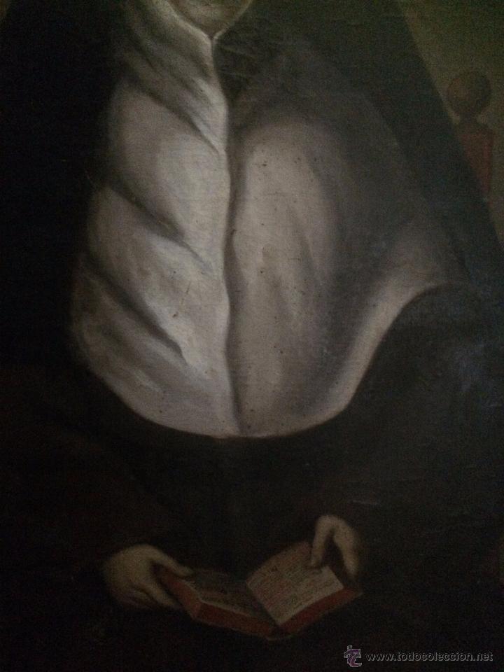 Arte: impresionante retrato de abadesa, s.xvii - Foto 3 - 52904499