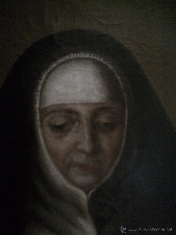 Arte: impresionante retrato de abadesa, s.xvii - Foto 4 - 52904499
