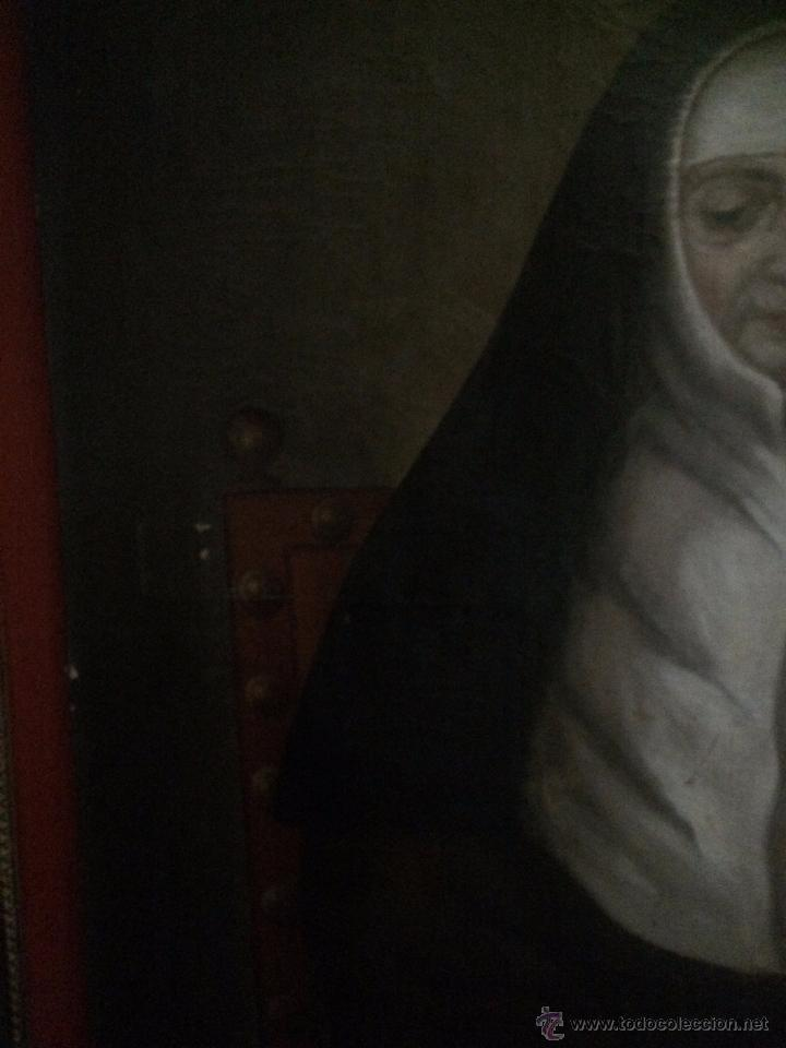 Arte: impresionante retrato de abadesa, s.xvii - Foto 5 - 52904499