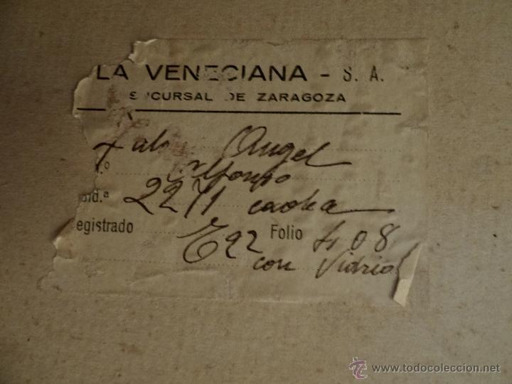 Arte: Antigua Santa Cecilia , pintada a Carboncillo, preciosa.Muy grande. - Foto 3 - 173932180