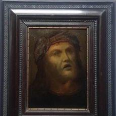 Arte: ECCE HOMO: OLEO SOBRE TABLA / 1523 / FIRMADO Y FECHADO EN EL REVERSO / SELLO NOBLE DE LACRE. Lote 52958277