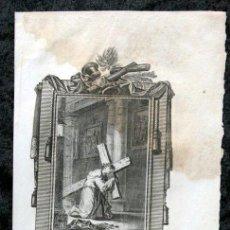Arte: EL B. SIMON DE ROXAS , C. - GRABADO DEL S. XIX - 180X115MM. Lote 53186461