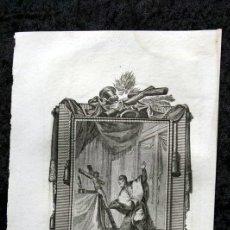 Arte: S . LORENZO JUSTINIANO - O. Y CONFESOR - GRABADO SIGLO XIX - 178X116MM. Lote 53187249